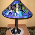 modern Tiffany lámpa