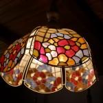 Ólomüveg Tiffany csillár