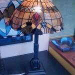 Barokk stílusú Tiffany lámpa