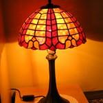 klasszikus Tiffany ólomüveg lámpa